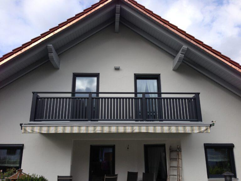 Pulverbeschichteter Balkon