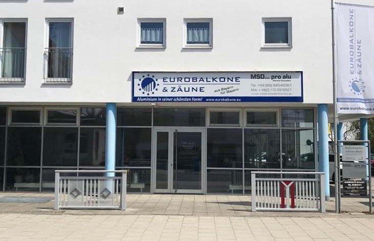 Eurobalkone & Zäune Vertrieb Feldkirchen bei München